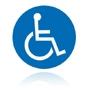 M 025 Cesta vyhradená pre používateľov invalidných vozíkov