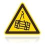 W 006 Nebezpečenstvo pádu alebo pohybu zaveseného predmetu
