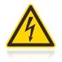 W 008 Nebezpečenstvo úrazu elektrinou