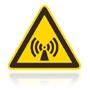 W 012 Nebezpečenstvo neionizujúceho žiarenia