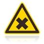 W 018 Nebezpečenstvo škodlivých alebo dráždivých látok