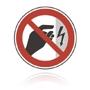 Zákaz dotyku krytu